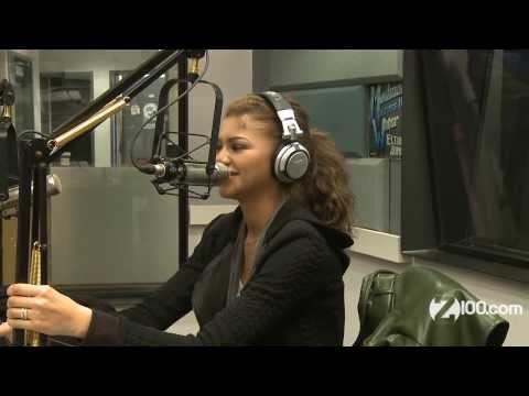 Val - Zendaya stopped through to chat with Garrett from Elvis Duran and the Z100 Morning Show. What she did not know was that Garrett devised a plan to prank her b...