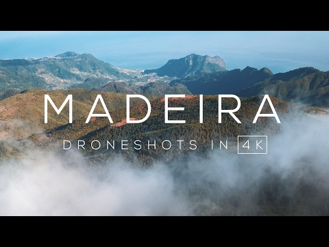 Madeira (Volcanic Island) in 4K UHD Drone video
