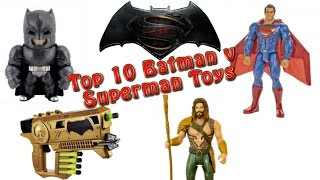 TTPM's Top 10 Batman v Superman Toys