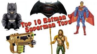 TTPM's Top 10 Batman v Superman Toys