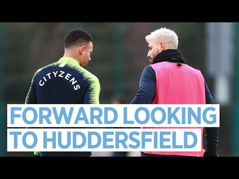 Video: TRAINING TO TAKE ON THE TERRIERS | MAN CITY
