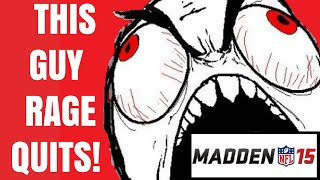 Rage Quit!: Madden 15 PS4 - YouTube