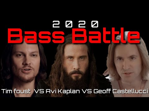 [2020/Bass Battle] Avi VS Tim VS Geoff (Low Notes Only) Eb2 - C0