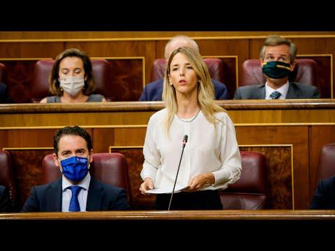 Cayetana Álvarez de Toledo interviene en la sesión de control al Gobierno