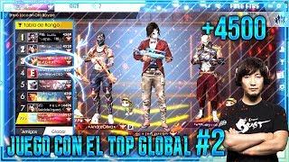 ASI JUEGA EL TOP GLOBAL#2  PARTIDA EPICA // FREE FIRE
