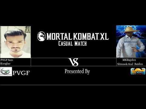 PVGF Mortal Kombat XL Sameer (Kunglao) vs MKRayden (Shinnok and Raiden)
