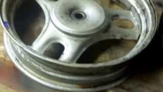 10. Replace Tire on 50cc Honda Metropolitan Scooter