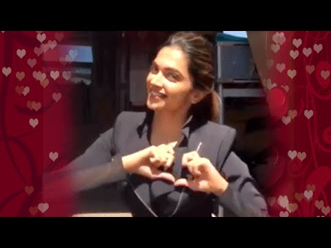 Deepika Padukone Finally Says I LOVE YOU