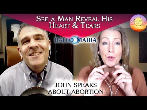 Abortion affects men, too! Christine's husband bravely shares a secret.