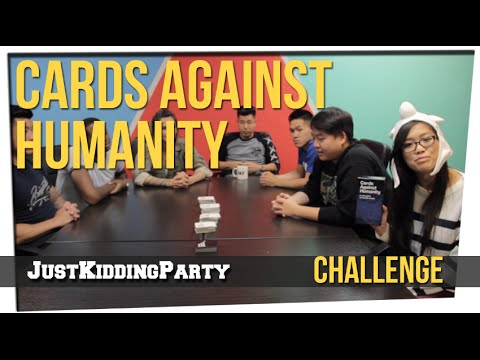 cards - We play cards against humanity again with the highly requested David So! Our Other Channels: BEHIND THE SCENES CHANNEL: http://www.youtube.com/JustKiddingPar...