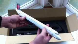 Skymarks Supreme 1:100 Delta Airlines MD-88 Unboxing