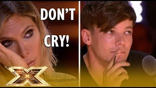 Video 4 INSPIRING Auditions That Made Judges CRY on X Factor 2018! MP3, 3GP, MP4, WEBM, AVI, FLV Maret 2019