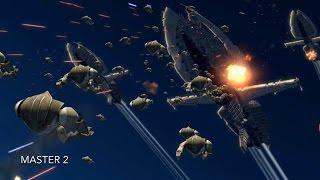 [Super Droids Enders Aayla Secura's Cruiser] Star Wars TCW Season 1 Episode 13 [HD]