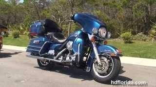 8. Used 2005 Harley Davidson Ultra Classic Electra Glide Motorcycles for sale - Sarasota, FL