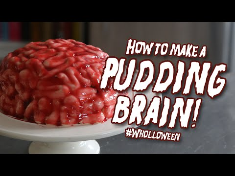 """instructions - Looking for a ghoulish treat to make this #Wholloween? Why not rustle up your very own """"Pudding Brain"""" with this recipe from Great British Bake Off winner, Edd Kimber. Head over to doctor..."""