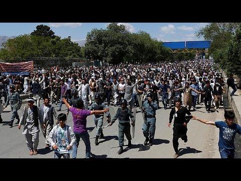 Αφγανιστάν: Διαδήλωση για το ηλεκτρικό ρεύμα