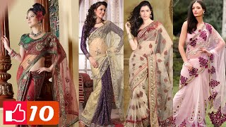 Video Top 10 Latest Indian Sarees ► Styles and Designs MP3, 3GP, MP4, WEBM, AVI, FLV Mei 2018