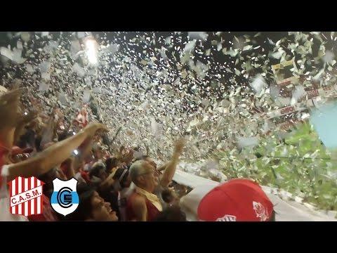 Recibimiento de San Martín de Tucumán VS Gimnasia y Esgrima (J) - La Banda del Camion - San Martín de Tucumán