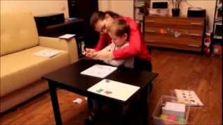 Динамика занятий с не говорящим ребенком