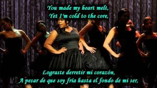 Download Lagu Glee - Rumour has it - Someone like you / Sub spanish with lyrics Mp3