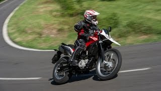 1. Riding the new Husqvarna TR650 Strada/Terra
