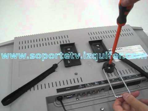 Colgar el lcd en la pared videos videos relacionados for Colgar tv pared sin soporte