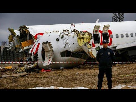 Τρεις νεκροί και δεκάδες τραυματίες από το αεροπορικό δυστύχημα στην Κωνσταντινούπολη…