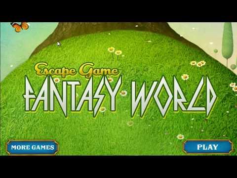 Escape Game Fantasy World WalkThrough - FirstEscapeGames
