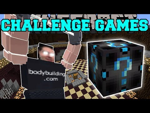 Minecraft: REAL LIFE PAT CHALLENGE GAMES - Lucky Block Mod - Modded Mini-Game (видео)