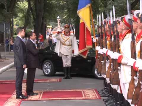 Președintele Nicolae Timofti a primit scrisorile de acreditare din partea ambasadorului Turkmenistanului
