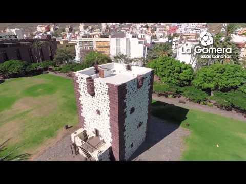 Spot invierno de la isla de La Gomera en Canarias