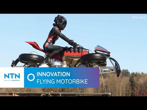 LMV 496: The first flying bike
