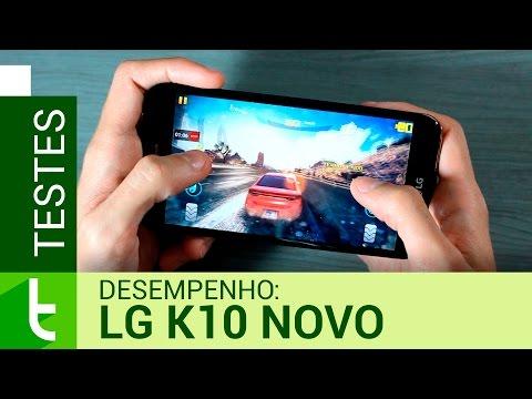 Desempenho do LG K10 Novo (2017)  Teste de velocidade oficial do TudoCelular