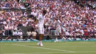 Tennis Highlights, Video - 2013 Day 11 Highlights: Juan Martin Del Potro v Novak Djokov