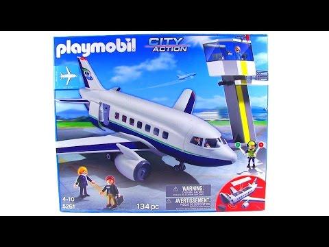 Playmobil City Action Cargo & Passenger Aircraft review! set 5261