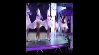 رقص بنات في مهرجان بريدة