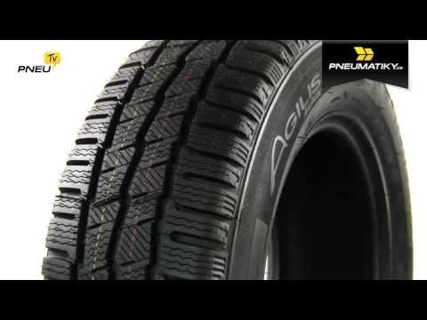 Youtube Michelin AGILIS ALPIN 185/75 R16 C 104/102 R Zimní
