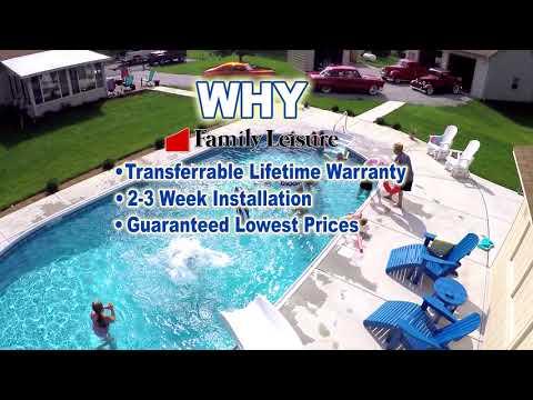 Family Leisure Inground Swimming Pool Sale