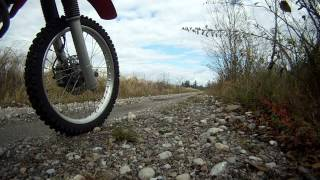 3. XR650R Top Speed Runs with GPS Proof