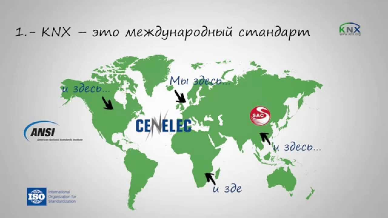 Advantages of KNX - Russian
