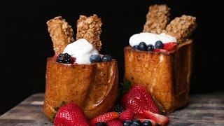 Honey Toast French Toast by Tasty