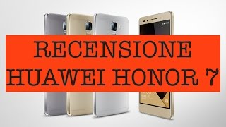 Video: Huawei Honor 7 Black: Recensione completa ...