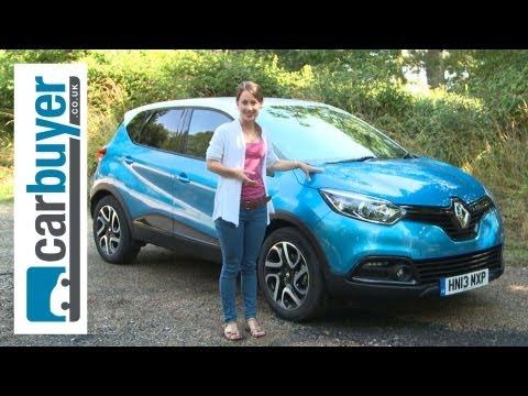 Renault Captur SUV 2013 review – CarBuyer
