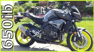8. Traded R6 for a NEW Yamaha FZ-10/MT-10!