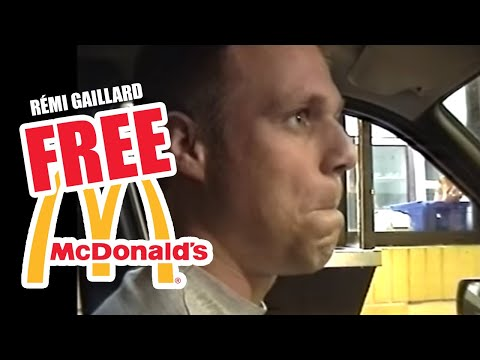 FREE MEAL AT MC DONALD'S (REMI GAILLARD) Video