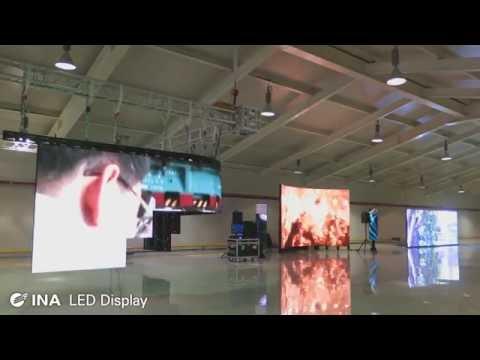 INA INACUBE 인아 TV INAREX LED display 홍보 영상 - (주)인아