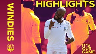 Roston Chase Wraps Up Huge Win | Windies vs England 1st Test Day 4 2019 - Highlights