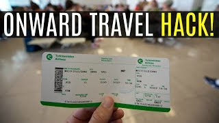 This is a great hack for travellers who explore the world on one way tickets and need proof of onward travel to enter a country. https://flyonward.com/en/ offers a great service that enables you to rent a ticket for 24/48 hrs.----------NEED MORE TRAVEL TIPS? Check out: http://www.backpackyack.com  ---------- This is my travel forum where you can join a fun community of travellers. You can ask questions, share stories and contribute your best travel tips!!---------- SUPPORT MY WORK ----------Patreon: https://www.patreon.com/ScottyDoesYour support will be a game changer and having you believe in me will ignite the Scotty Does flame. In return you will get some awesome rewards and my eternal gratitude.---------- FOLLOW ME ON ----------FACEBOOK: https://goo.gl/G7sIqVINSTAGRAM: https://goo.gl/7eUFeTTWITTER: https://goo.gl/aomOjnSNAPCHAT: scottydoessnapBUSINESS EMAIL: scottydoes1@gmail.comPAYPAL EMAIL: backpackyack@gmail.com---------- FREE ACCOMODATION CREDIT ---------- Get $30 off your first stay on Airbnb: https://goo.gl/D67xqX---------- ABOUT ME ---------- Hi, my name's Scott. In 2012 I pushed myself to travel after a nasty car accident and have never looked back. Electrician turned Youtuber and blogger I now have a passion lighting the way for new travellers instead of lighting people's houses.  ---------- MY GEAR  ---------- Camera: https://goo.gl/EEgYUcBackpack: https://goo.gl/Xa0PAFMoney Clip: https://goo.gl/usXySxThule laptop case: https://goo.gl/t2zto3Hard Drive: https://goo.gl/BMZyB1*These are affiliate links so I can earn a small amount of money from sales at not extra cost for you.¸¸♬---------- MUSIC ----------¸¸♬Intro music is from,SANDR - Miles High [Argofox]https://soundcloud.com/argofox/sandr-miles-high