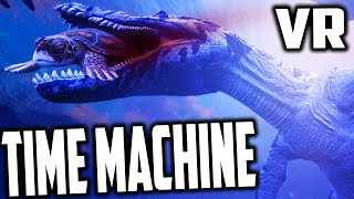 Time Machine VR - PREHISTORIC CREATURES EATING EACHOTHER (HTC Vive Virtual Reality)