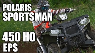 8. TEST RIDE: 2016 Polaris Sportsman 450 HO EPS